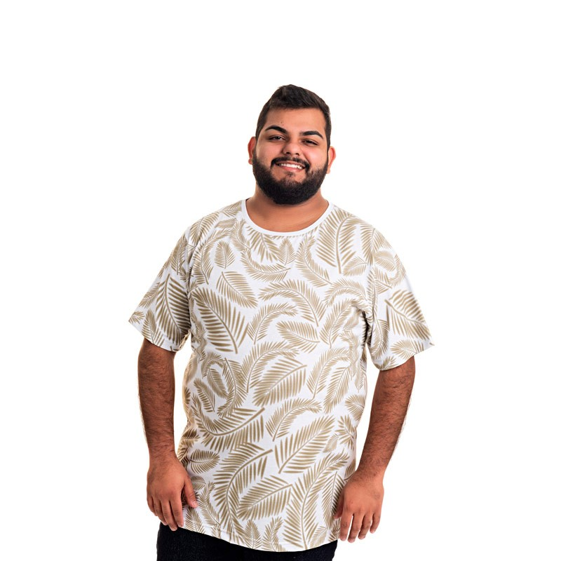 Camiseta Decoy Plus Size Masculino Estampada Verde