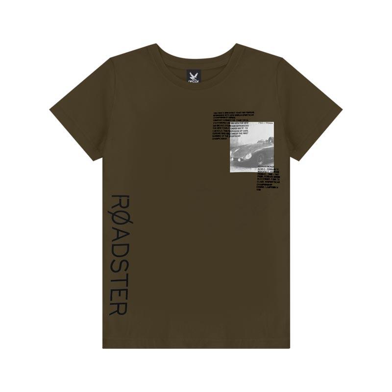 Camiseta Decoy Adulto Masculino Estampada Verde