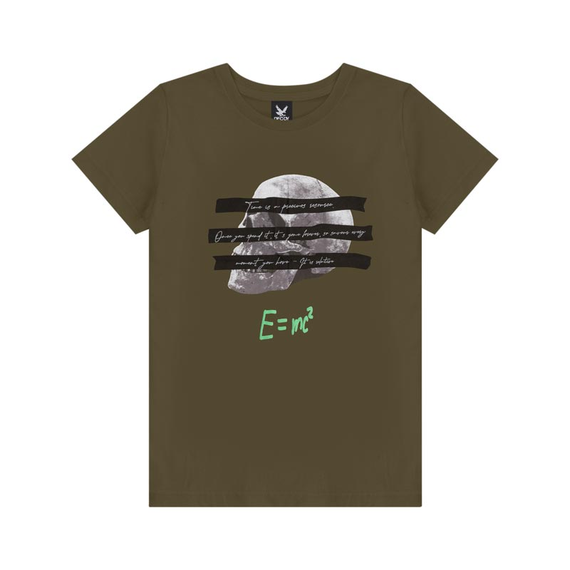 Camiseta Decoy Adulto Masculino Estampada Verde