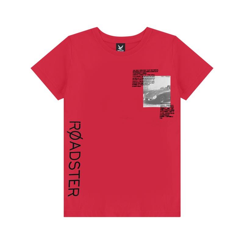 Camiseta Decoy Adulto Masculino Estampada Vermelho