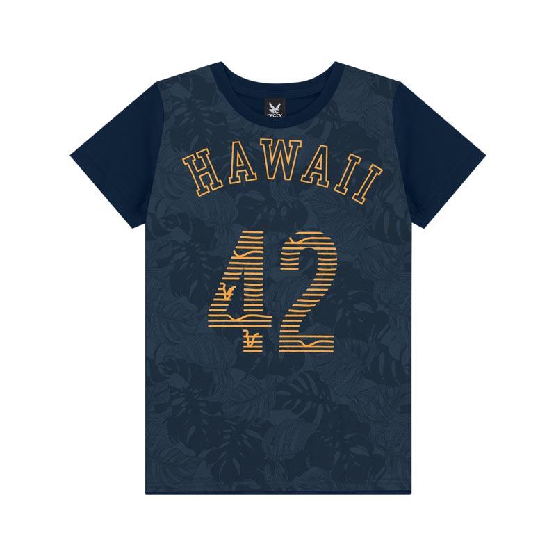Camiseta Decoy Adulto Masculino Hawai Azul