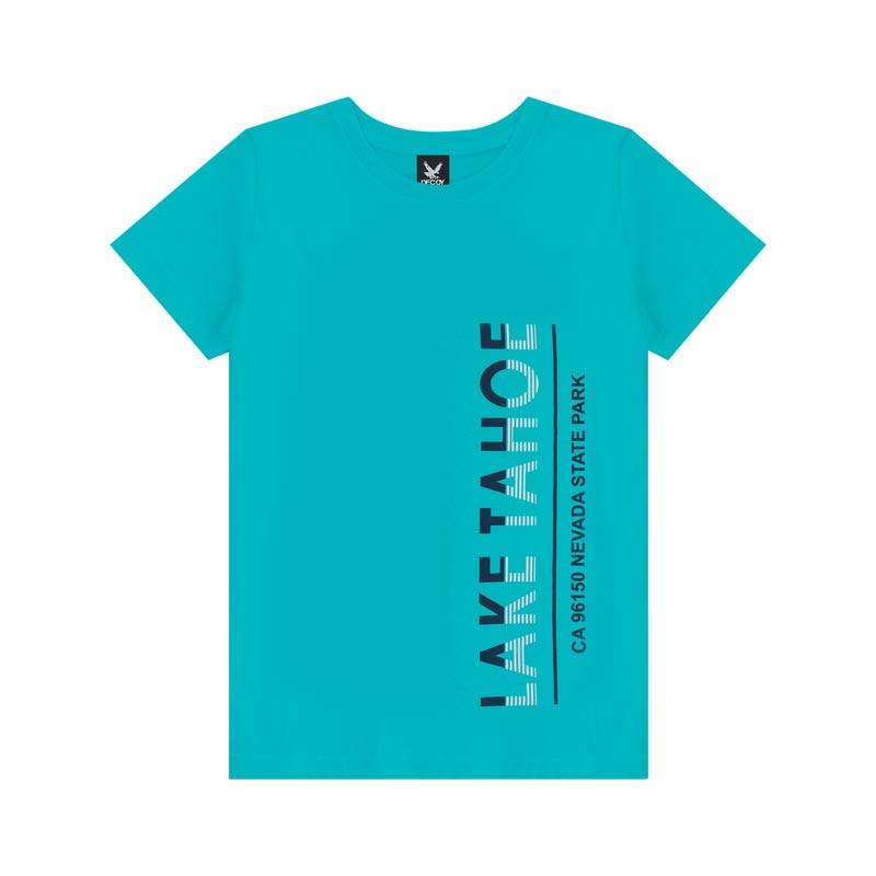 Camiseta Decoy Adulto Masculino Lake Azul