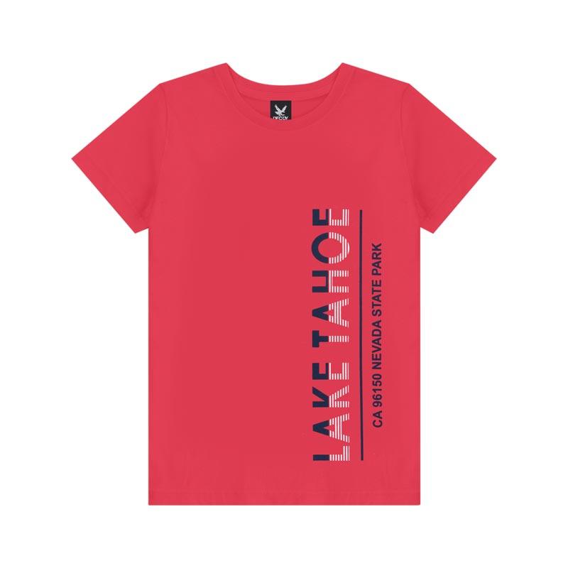 Camiseta Decoy Adulto Masculino Lake Vermelho