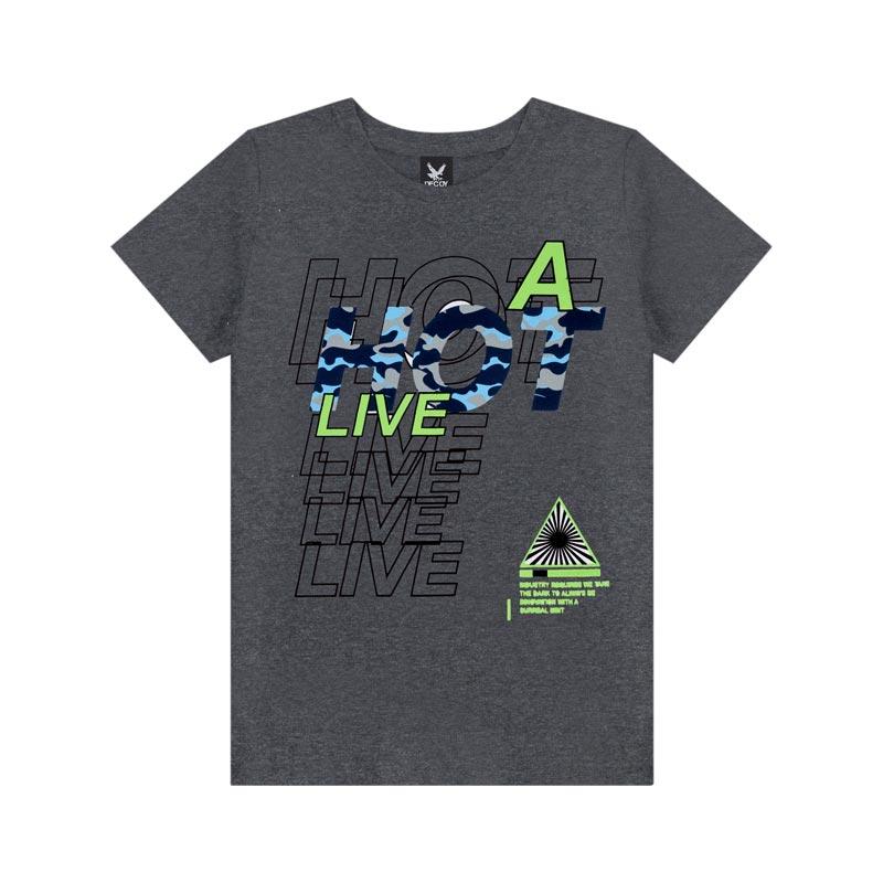 Camiseta Decoy Adulto Masculino Live Preto