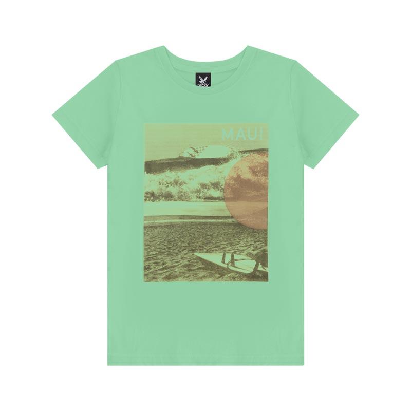 Camiseta Decoy Adulto Masculino Maui Verde