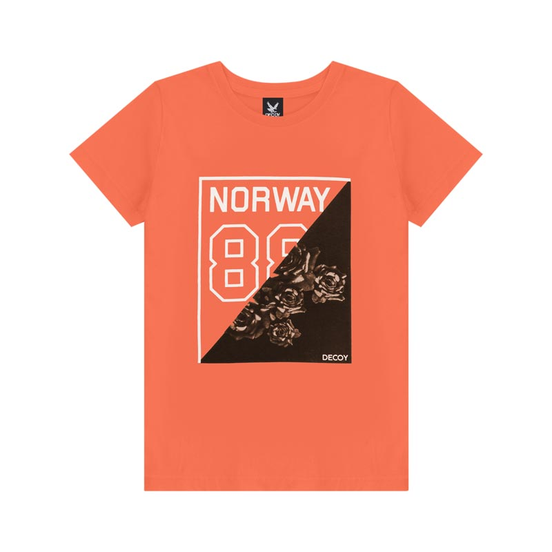 Camiseta Decoy Adulto Masculino Norway Laranja