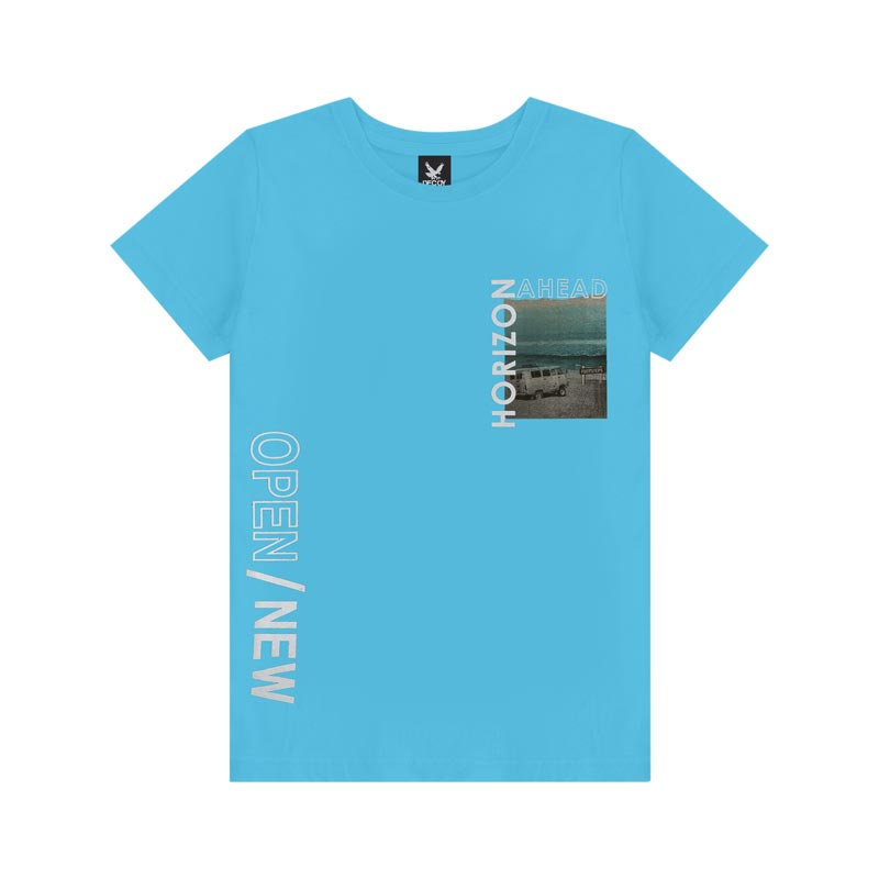 Camiseta Decoy Adulto Masculino Open Azul
