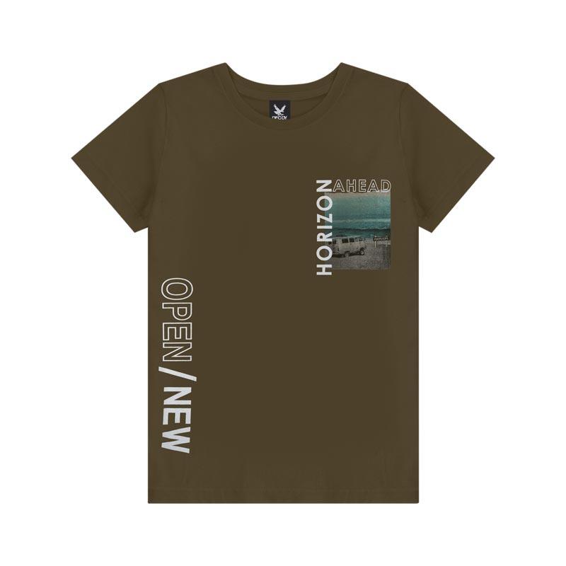 Camiseta Decoy Adulto Masculino Open Verde