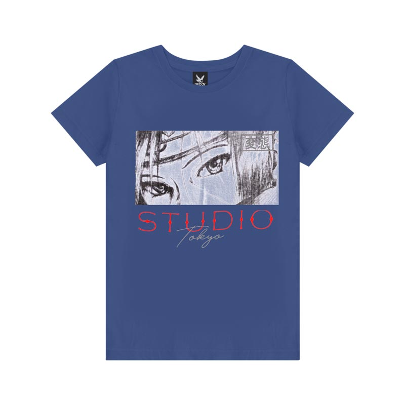 Camiseta Decoy Adulto Masculino Studio Azul