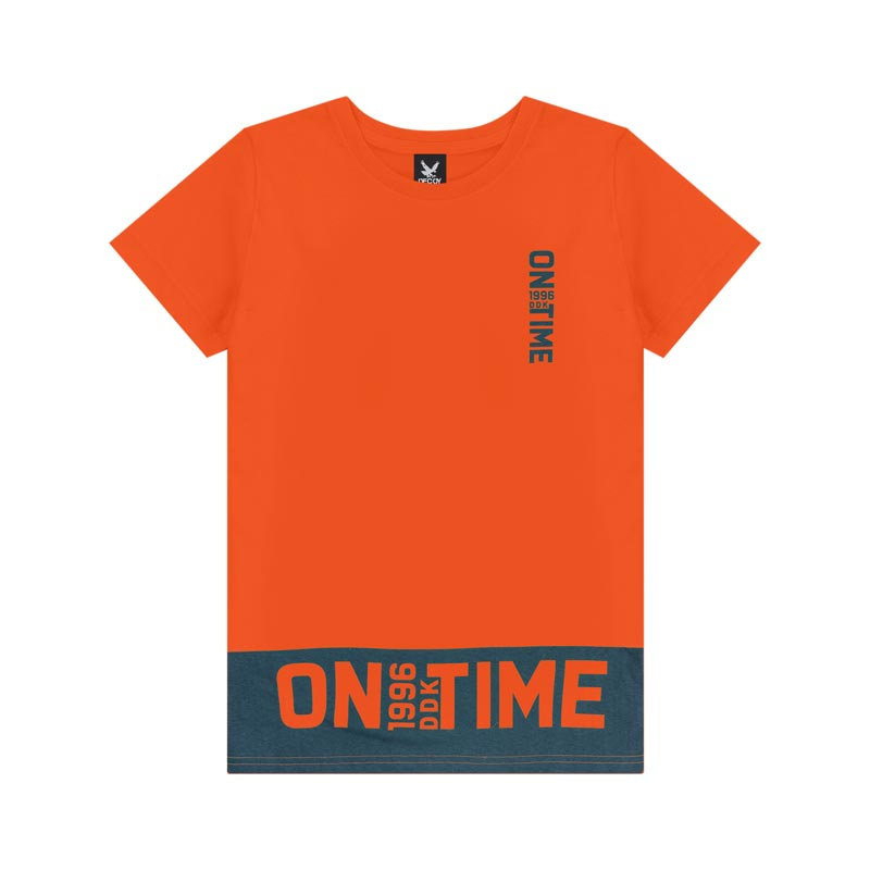 Camiseta Decoy Juvenil Masculino On Laranja