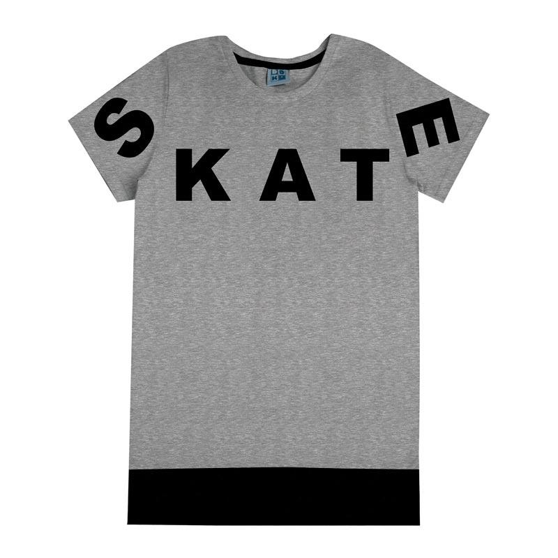 Camiseta DDK Infantil Menino Skate Mescla