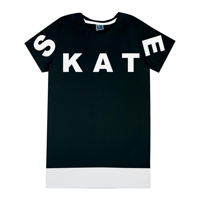 Camiseta Infantil DDK Menino Skate Preto