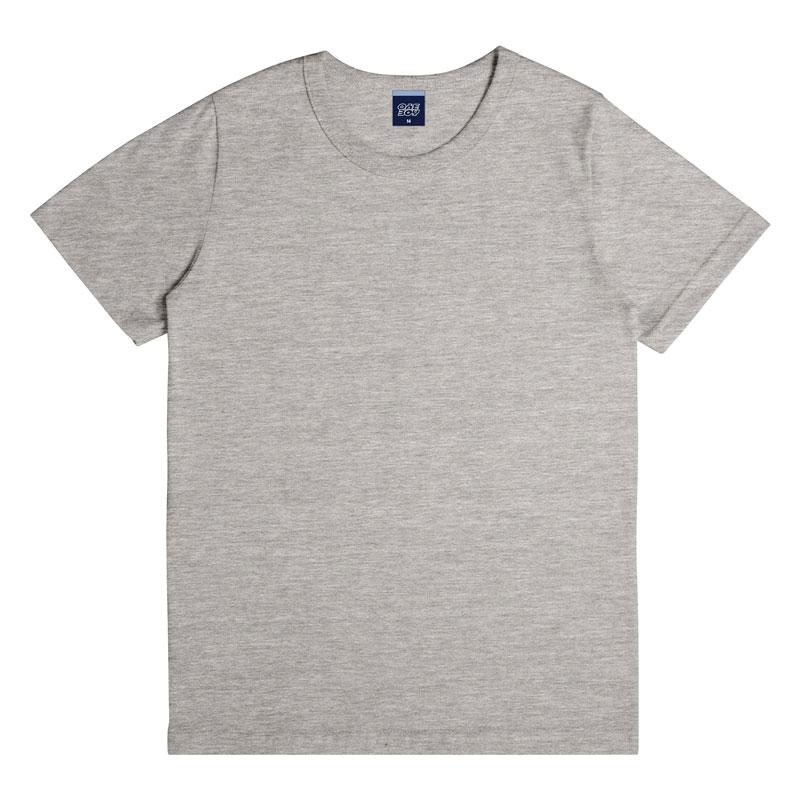 Camiseta Infantil Menino Básica Cinza
