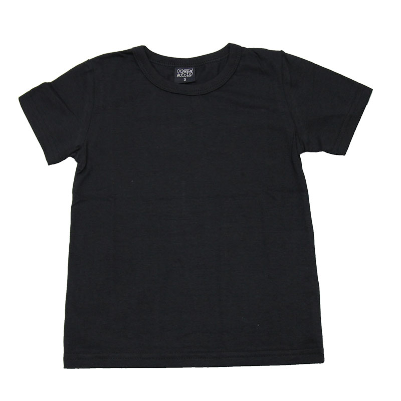 Camiseta Infantil Menino Básica Preto