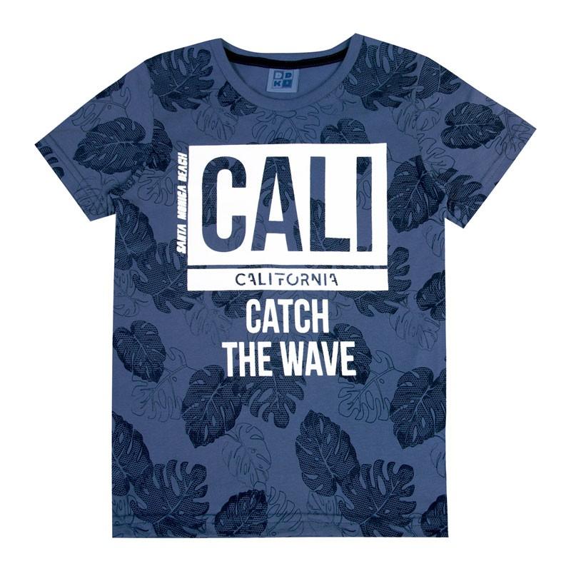 Camiseta Infantil Menino Cali Azul