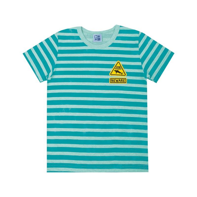 Camiseta Infantil Menino Listrada Verde