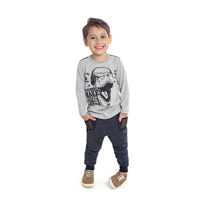 Camiseta Infantil Roarrr - DDK