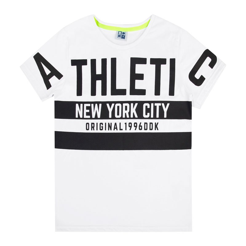 Camiseta Juvenil Menino Athletic Branco