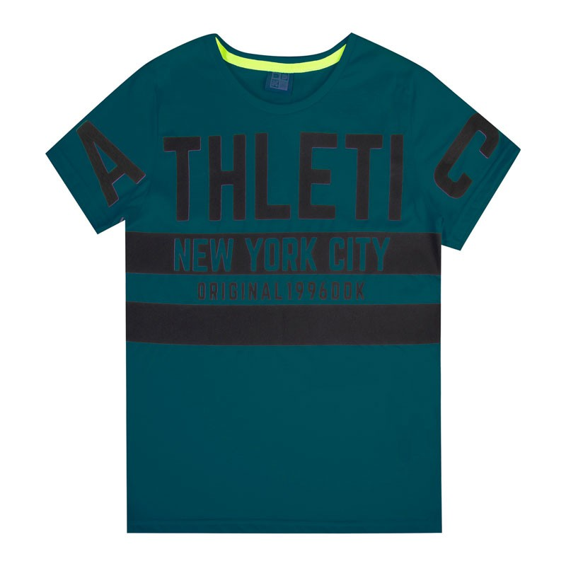Camiseta Juvenil Menino Athletic Verde