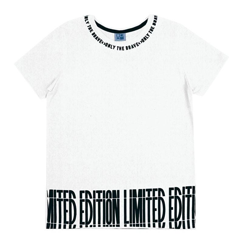 Camiseta Juvenil Menino Limited Branco