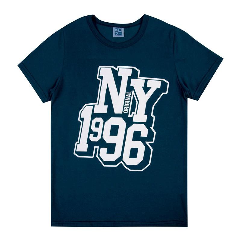 Camiseta Juvenil Menino NY 1996 Azul
