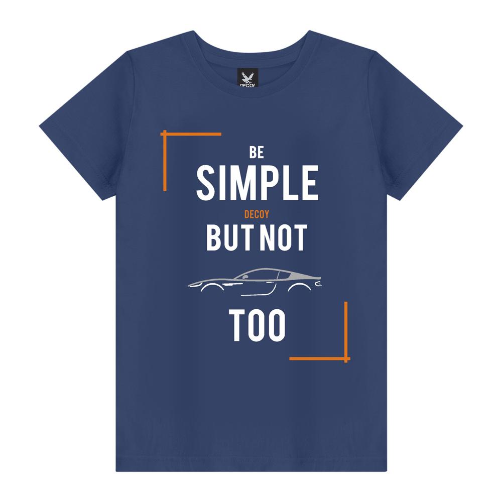 Camiseta Masculina Be Simple - Decoy