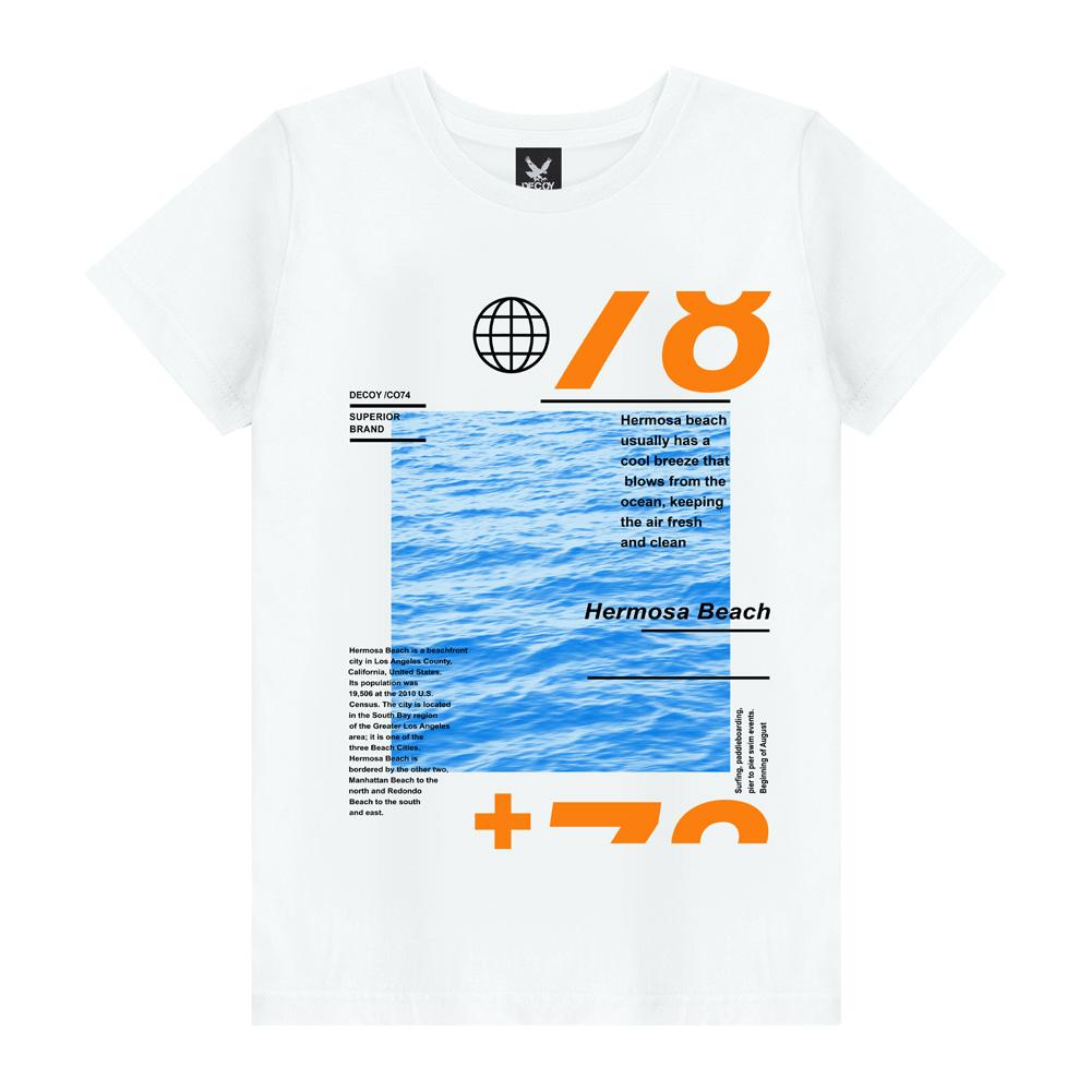 Camiseta Masculina Beach - Decoy