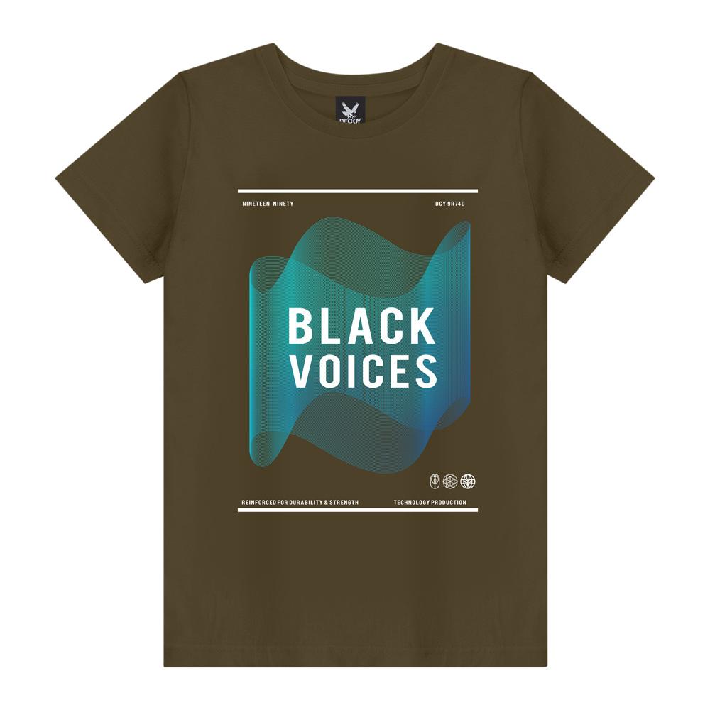 Camiseta Masculina Black Voices - Decoy