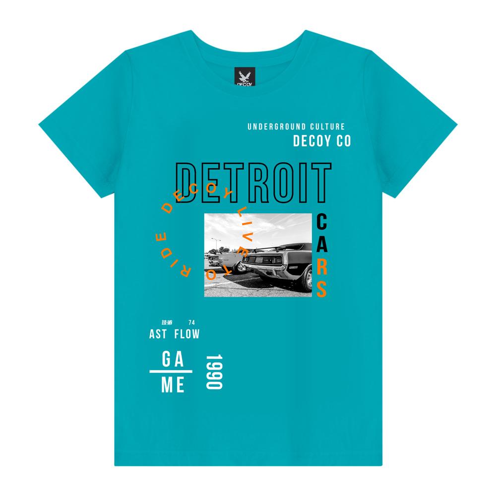 Camiseta Masculina Detroit - Decoy