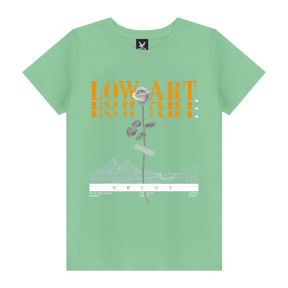 Camiseta Masculina Low Art - Decoy