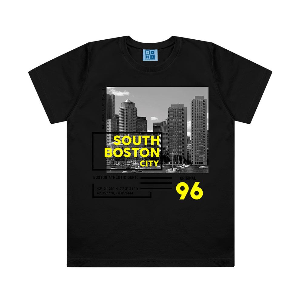 Camiseta Menino Boston City - DDK