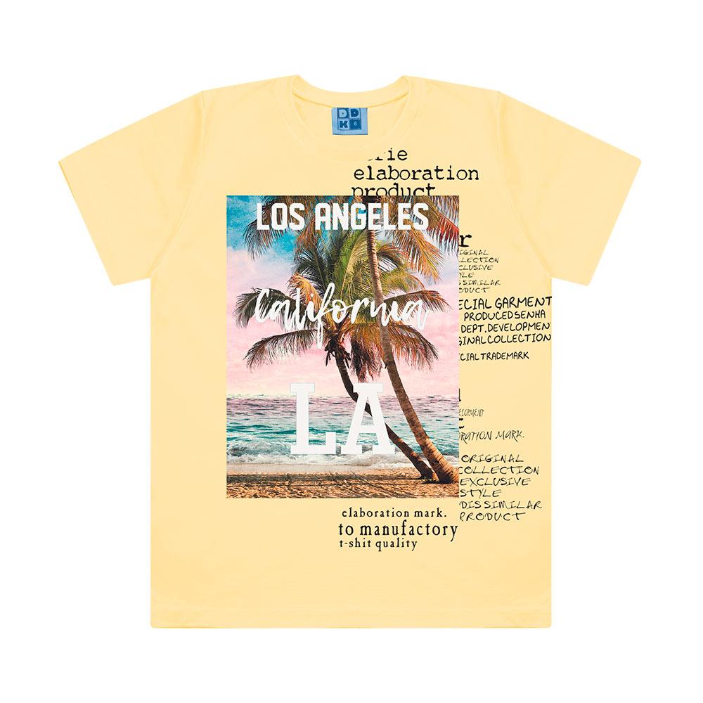 Camiseta Menino California LA - DDK