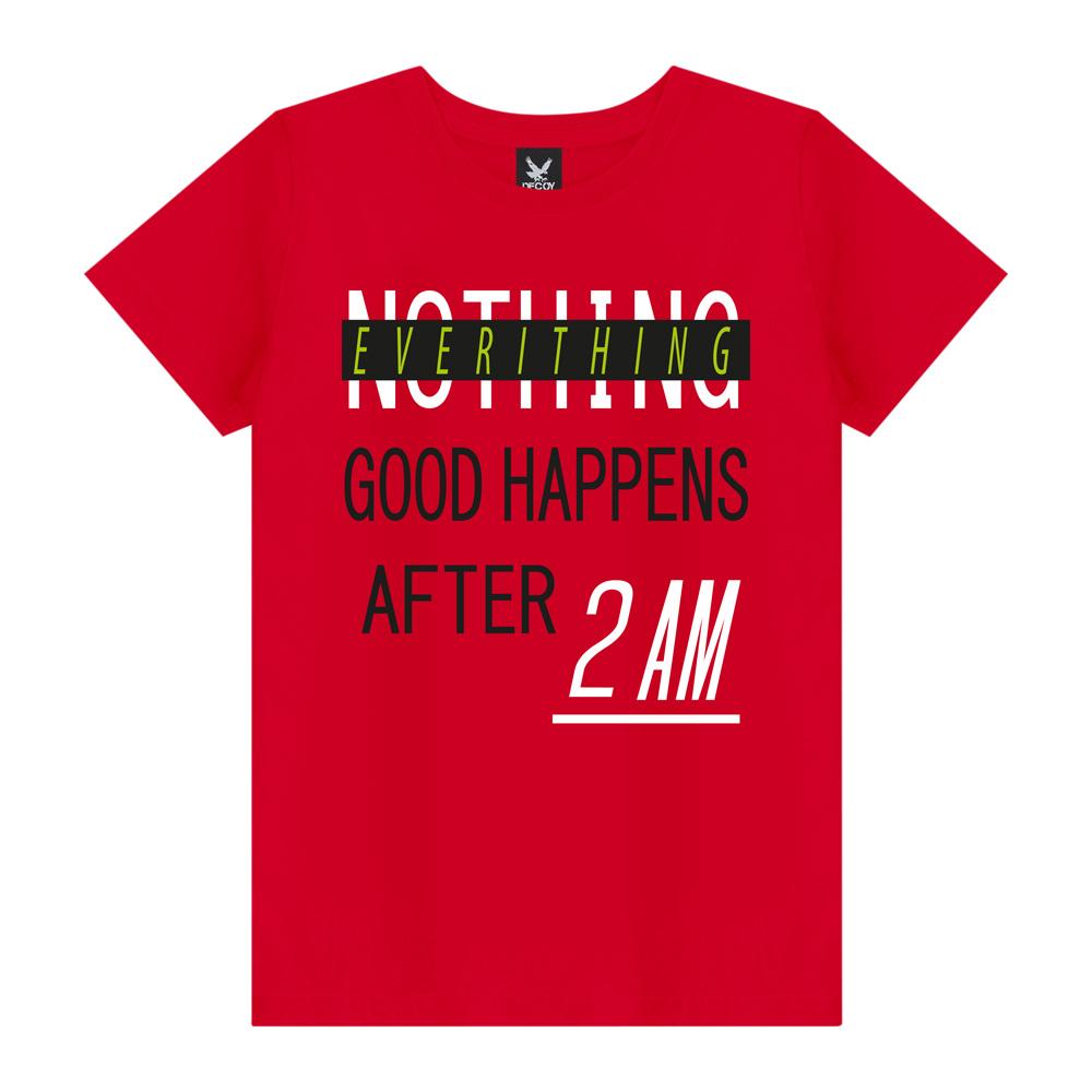 Camiseta Plus Size After 2AM - Decoy