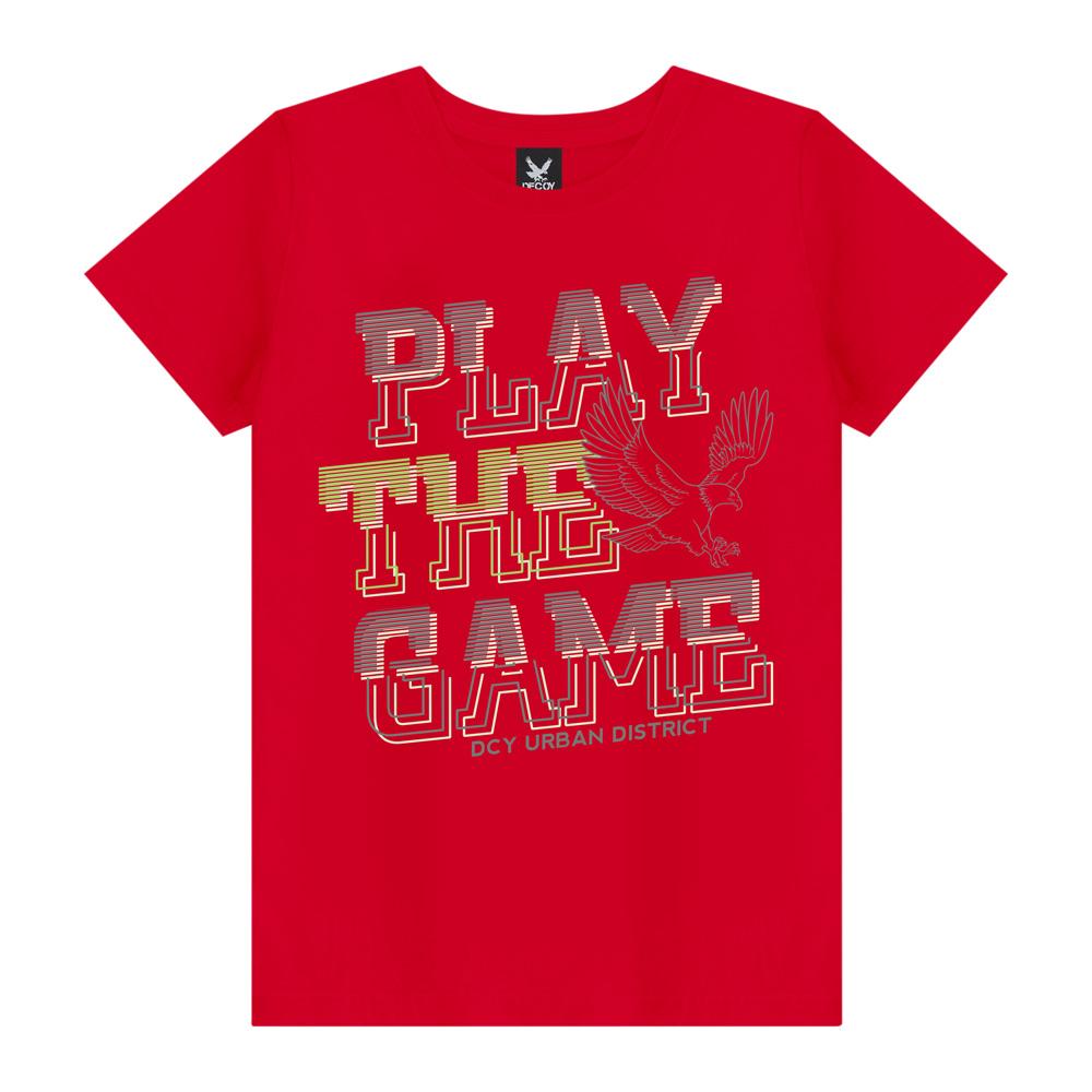 Camiseta Plus Size Play The Game - Decoy