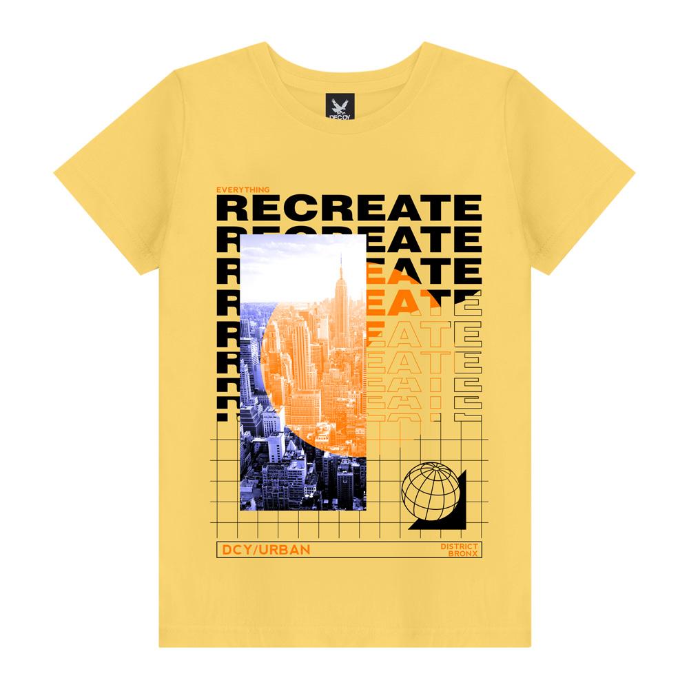 Camiseta Plus Size Recreate - Decoy