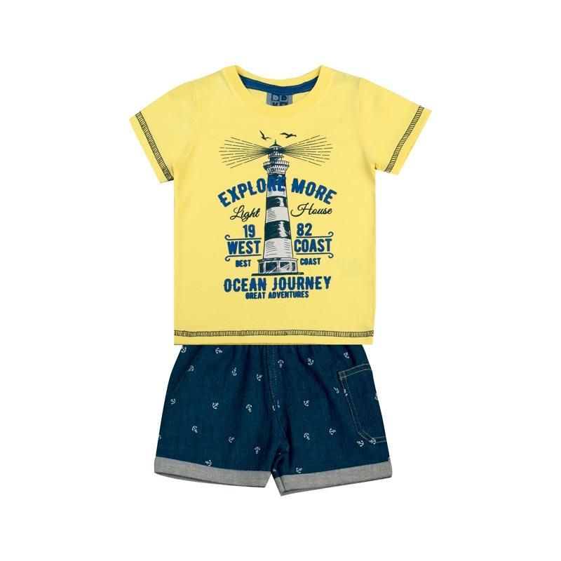 Conjunto Bebê Menino Farol Amarelo