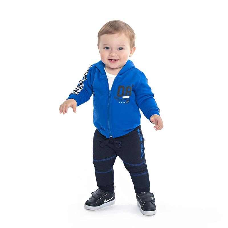 Conjunto DDK Infantil Menino  Azul
