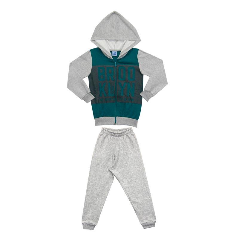 Conjunto DDK Infantil Menino Brooklyn Verde