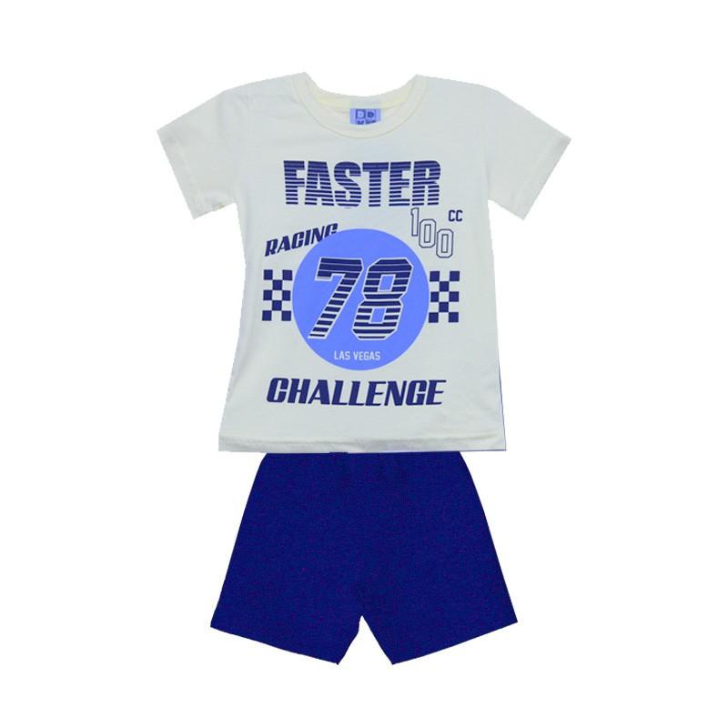 Conjunto DDK Infantil Menino Challenge Amarelo