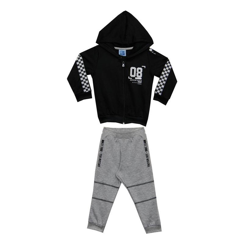 Conjunto DDK Infantil Menino Preto