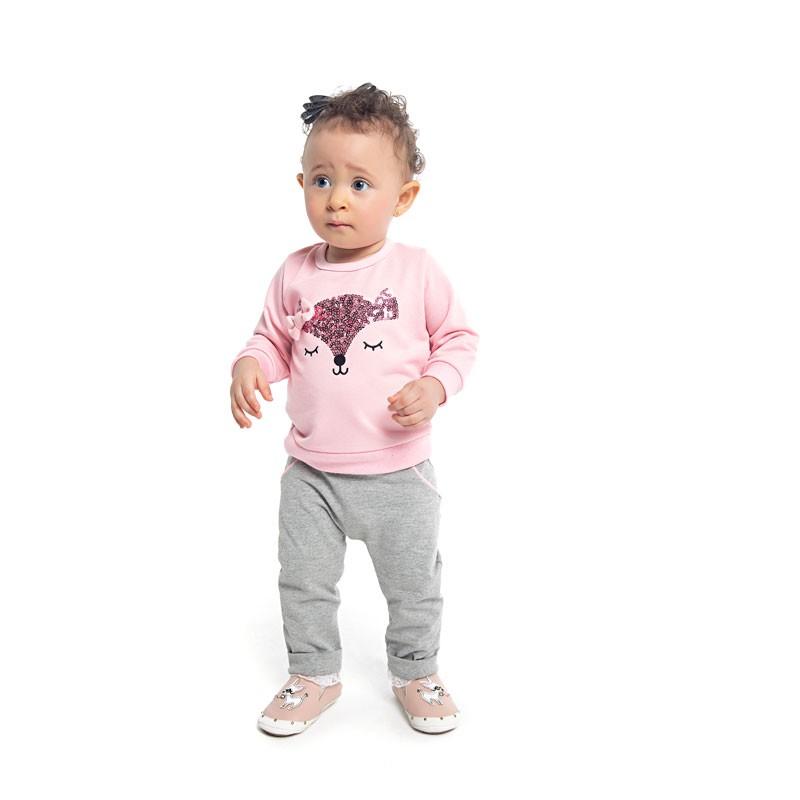 Conjunto Duduka Infantil Menina Rosa