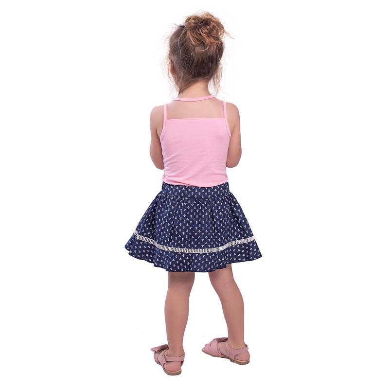 Conjunto Infantil Menina Laço Rosa