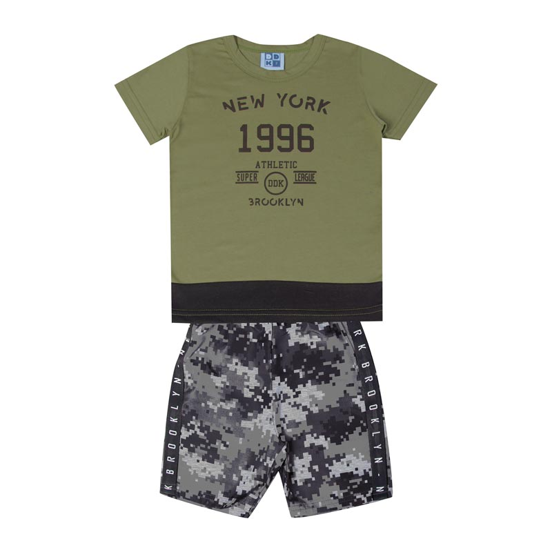 Conjunto Infantil Menino 1996 Verde
