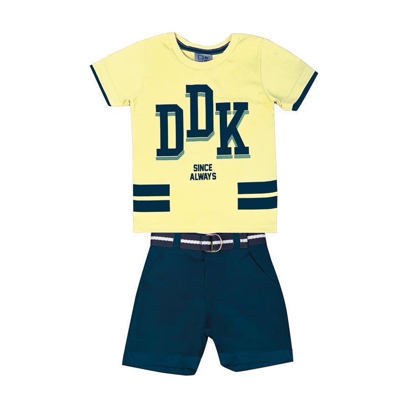 Conjunto Infantil Menino DDK Amarelo