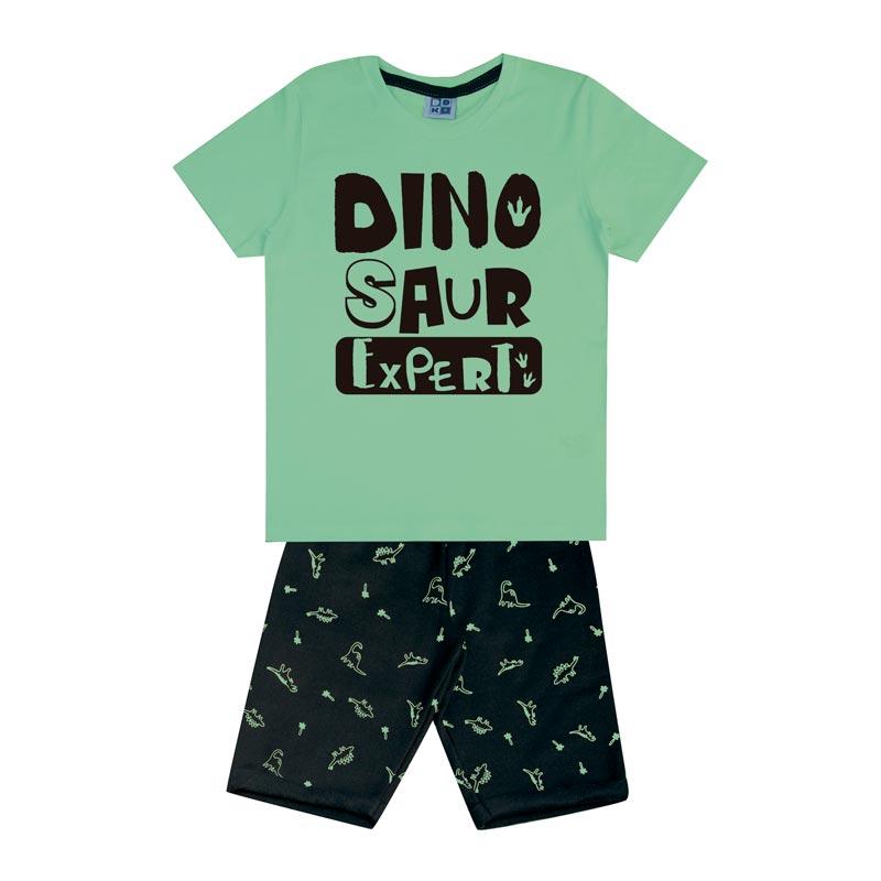 Conjunto Infantil Menino Dino Verde