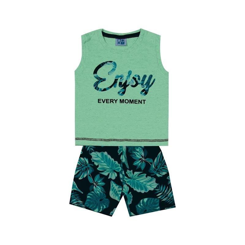 Conjunto Infantil Menino Enjoy Verde
