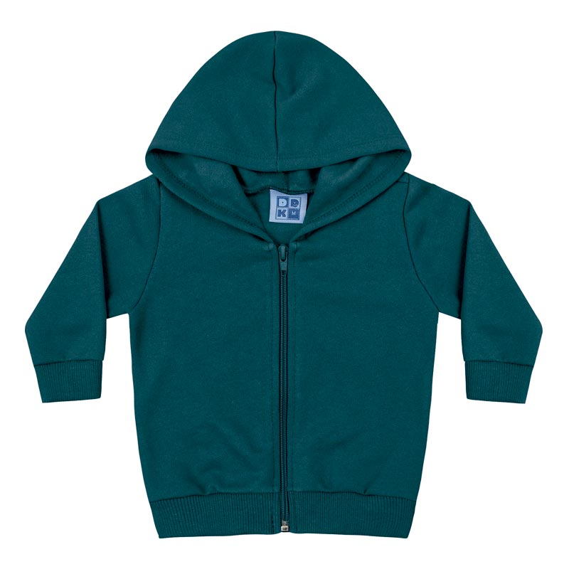 Jaqueta DDk Infantil Menino Básico  Verde