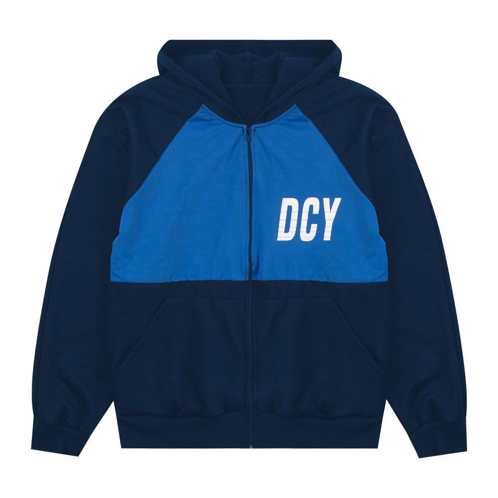 Jaqueta Decoy Juvenil/Adulto Masculino com Capuz Azul