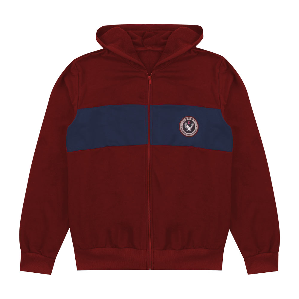Jaqueta Decoy Juvenil/Adulto Masculino com patch Bordo