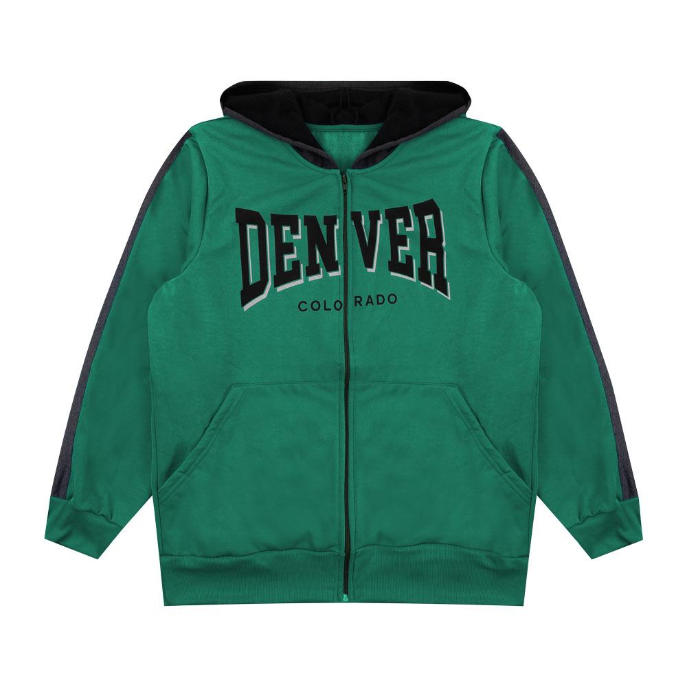 Jaqueta Decoy Plus Adulto Masculino Denver Verde